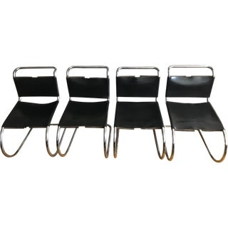 Mies Van Der Rohe MR Side Chairs - Set of 4