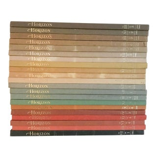 Vintage Horizon Book Collection - Set of 21