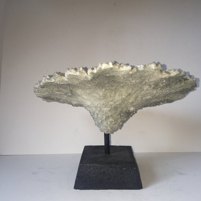 Faux Coral Specimen on Stand - Image 6 of 6