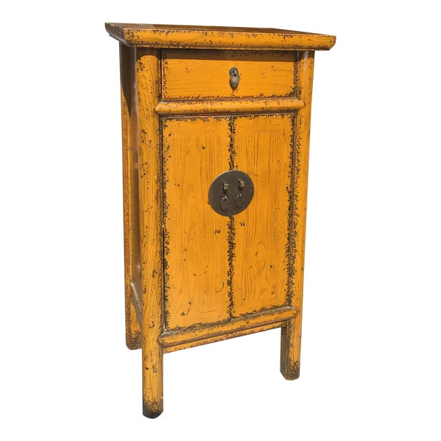 Chinese Golden Yellow Cabinet - Image 1 of 5