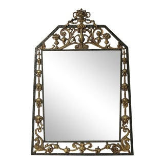 Neo-Gothic Mirror by Oscar Bach