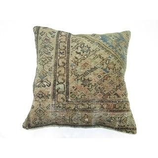 Blue Persian Rug Pillow