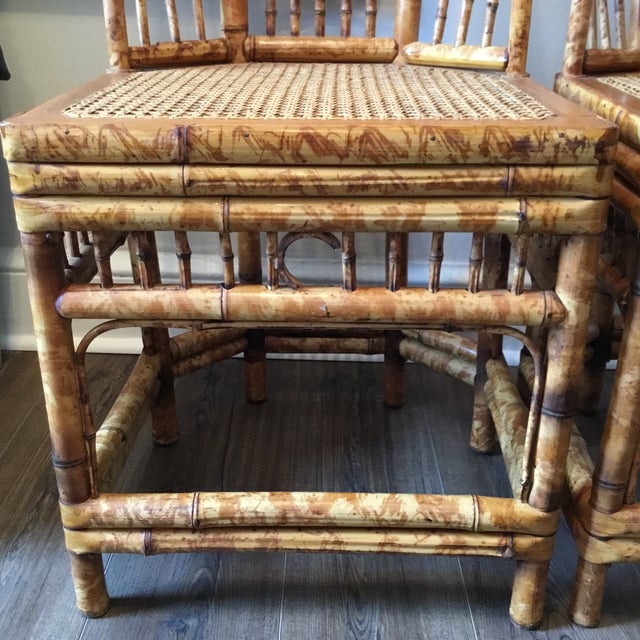 Vintage Brighton Chinese Chippendale Chairs - A Pair - Image 6 of 11