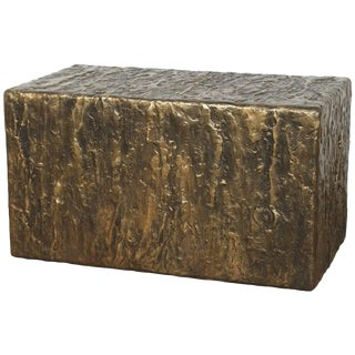 Hand Textured Coffee Table or Bench