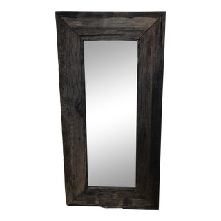 Reclaimed Wood Leaner Mirror