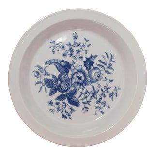 Royal Worcester Porcelain Baking Dish Rhapsody Pattern