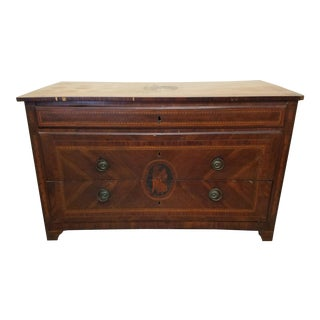 Neoclassic Italian Inlaid Chest
