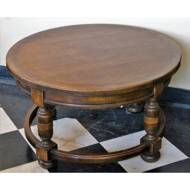 Round French Antique Coffee Table Chairish