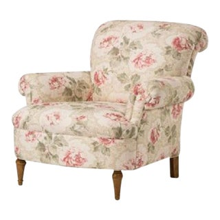 O. Henry House Floral Upholstered Armchair