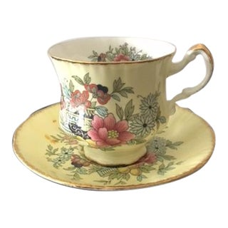 Paragon Bone China Tea Cup and Saucer