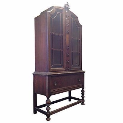 Glass Door China Cabinet - Image 1 of 8
