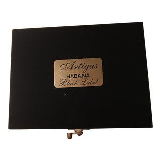 Artigas Black Label Cigar Box