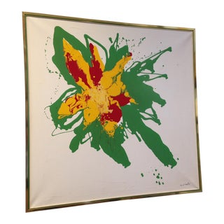 Vintage Original Abstract Painting
