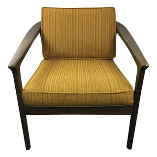 Mid-Century Modern Style Upholstered Armchair