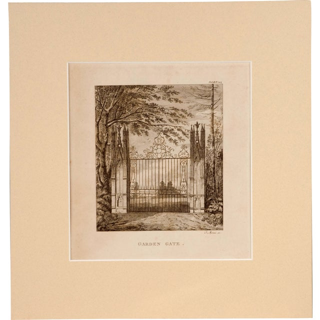 Image of Strawberry Hill Engraving - Set of 3