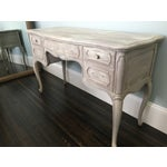 Image of Distressed French Vanity Table