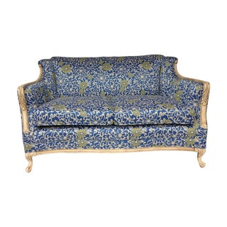 Louis XV Style Antique Loveseat/ Settee
