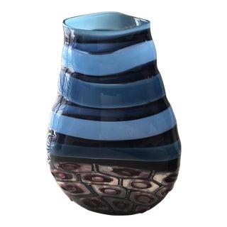 Signed Art Glass Vase