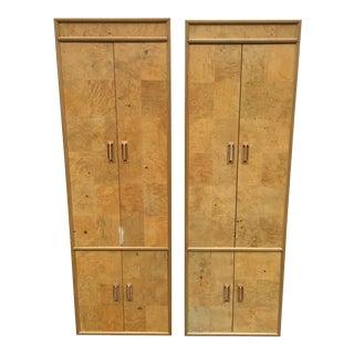 Henredon Tall Armoire Dressers - a Pair