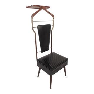 Mid-Century Modern Valet Butler Chair