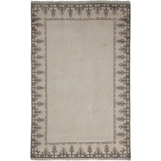 "Oushak Hand Knotted Area Rug - 4'6"" X 7'2"""