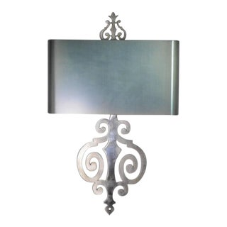 Maison Charles Steel Sconces - A Pair