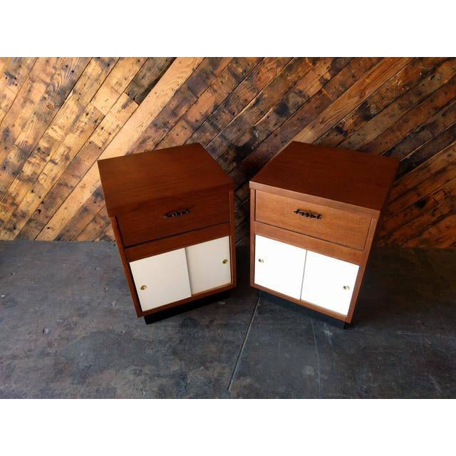 1950's Refinished Bedside Tables - A Pair - Image 3 of 7
