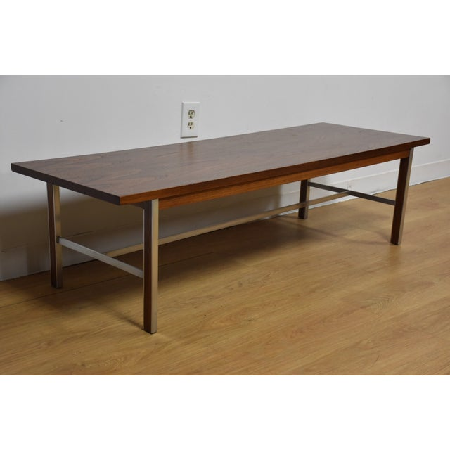 Paul McCobb for Calvin Walnut Coffee Table - Image 2 of 8