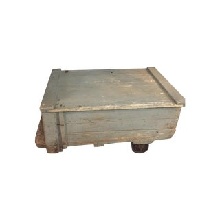 Pallet Cart Coffee Table
