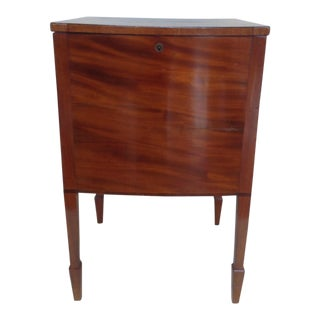 Georgian Satinwood Cellarette Cabinet