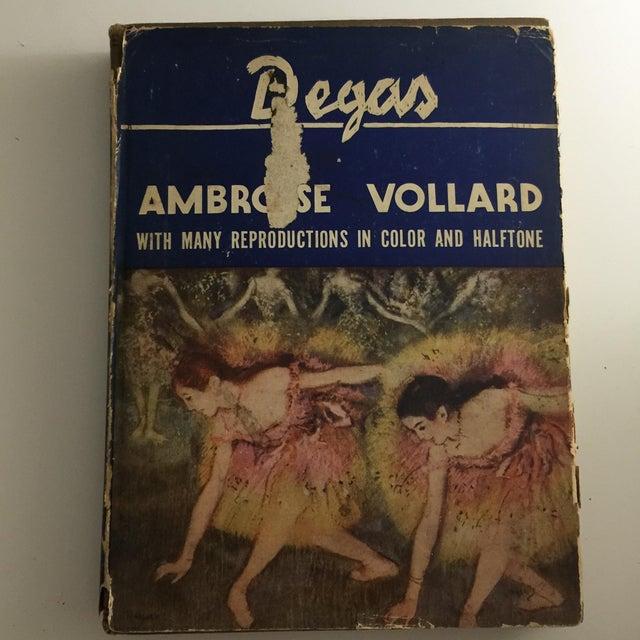 Degas by Ambrose Vollard 1937 Hardcover - Image 2 of 9