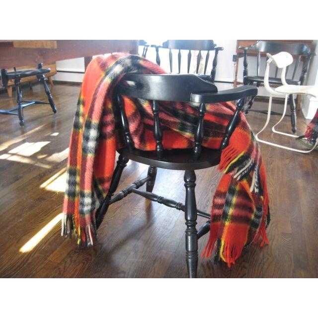 Red Plaid Arno Wool Camp Blanket - Image 6 of 6