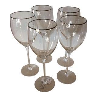Lenox Timeless Platinum Signature Wine Glasses - Set of 5
