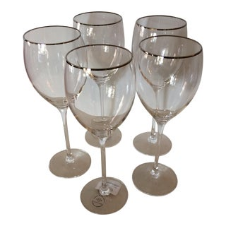 Lenox Timeless Platinum Signature Wine Glasses - Set of 5