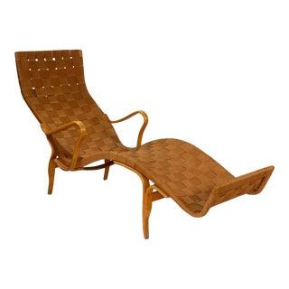 Mid-Century Modern Bruno Mathsson Lounge Chair