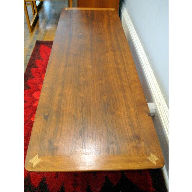Lane Mid Century Surfboard Coffee Table: Mid-Century Lane Surfboard Coffee Table