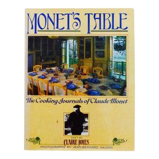 Monet's Table, Cooking Journals of Claude Monet
