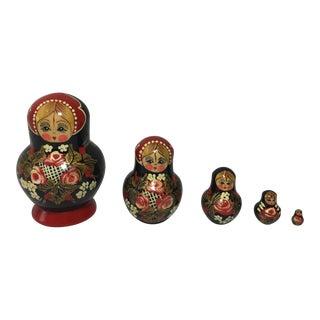 Matryoshka Russian Nesting Dolls - 5