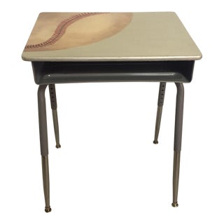 Baseball Side Table Desk
