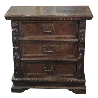 18th c. Italian Carved Walnut Chest