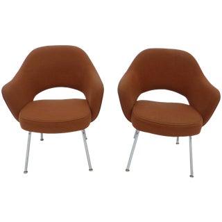Eero Saarinen for Knoll Executive Armchairs - Pair