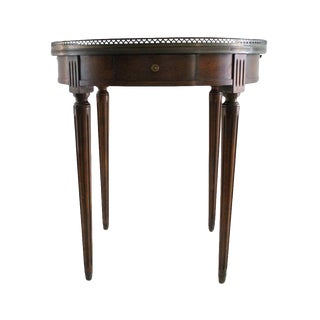 Brass Accented Occasional Table