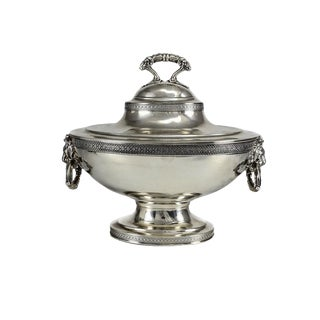 19th C. John C. Moore for Tiffany & Co. Sterling Silver Tureen