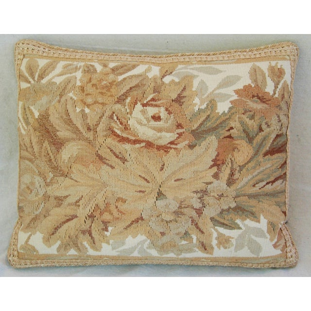 Custom Aubusson Tapestry Pillows - A Pair - Image 4 of 11