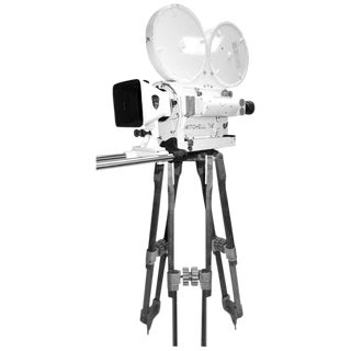 Ex Military Navy Mitchell Mid-Century Motion Picture Camera. Display As Sculpture