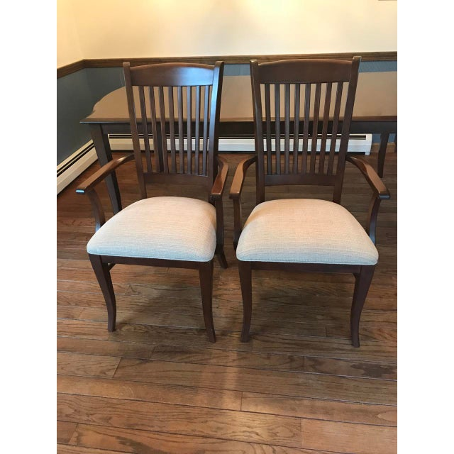 Richardson Brothers Solid Wood Dining Set - Image 8 of 11
