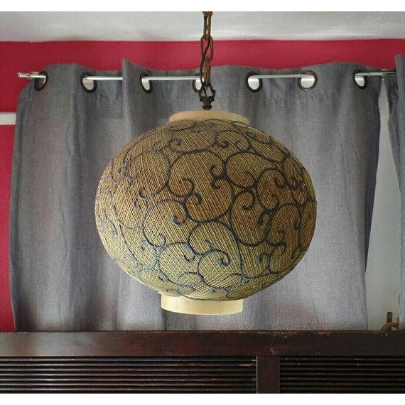 Vintage Victorian Scrolled Swagain Light - Image 2 of 5