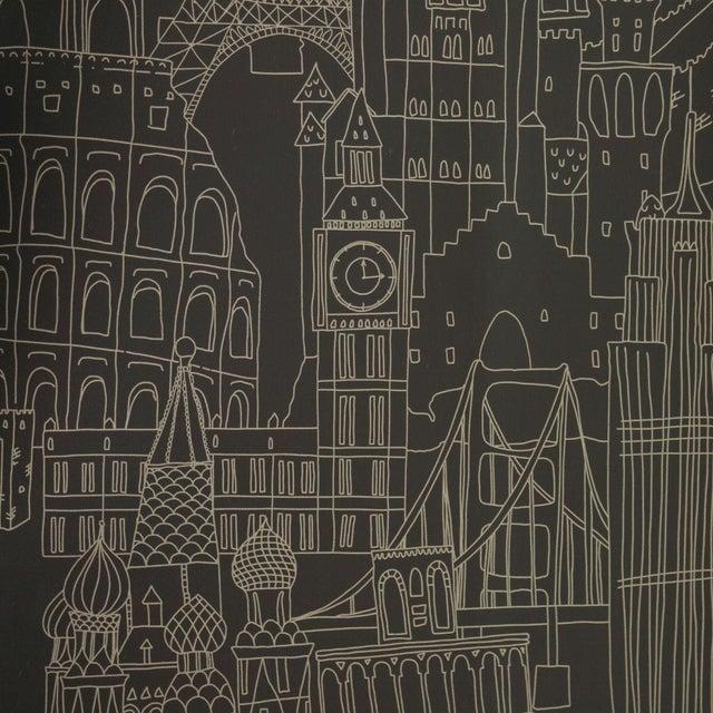 Clarke & Clarke Globetrotter Wallpaper - 6 Rolls - Image 1 of 4