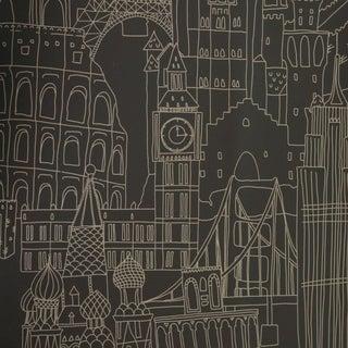 Clarke & Clarke Globetrotter Wallpaper - 6 Rolls