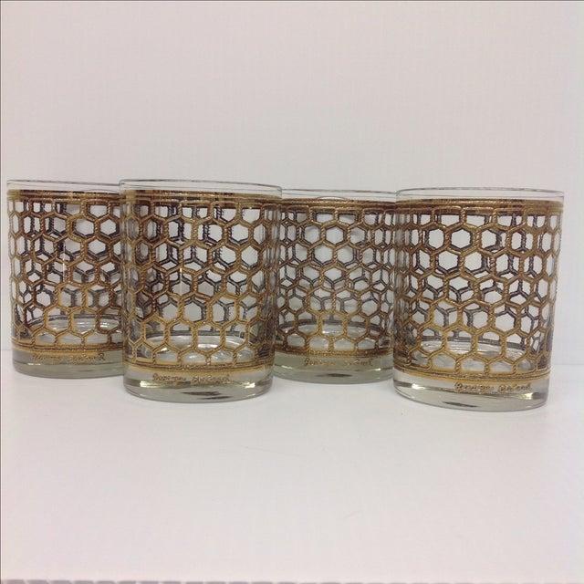 Georges Briard Mid-Century Glasses - Set of 4 - Image 3 of 5